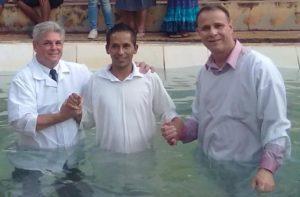 Batismo de Cleyton