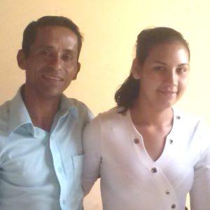 Cleyton e Patricia