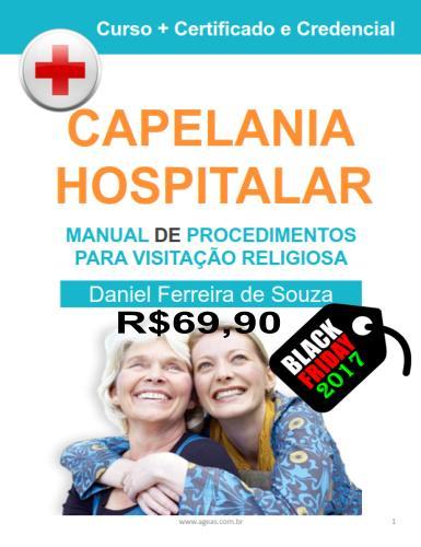 Curso de Capelania Hospitalar de R$ 197,00 por apenas R$ 69,90 na Black Friday